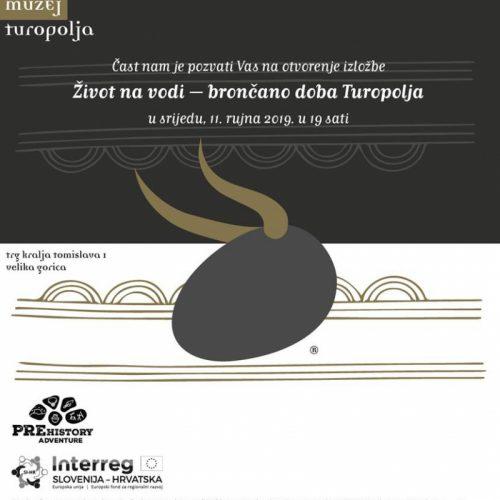 Život na vodi – brončano doba Turopolja – Otvorenje izložbe